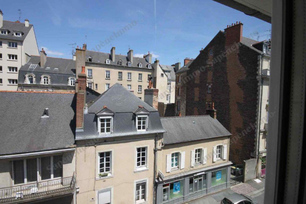 Immeuble  Ef Bf Bd Vendre Rennes Centre Ville