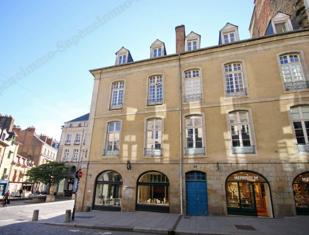 Vente appartement rennes vente studio rennes hyper centre for Achat maison rennes centre
